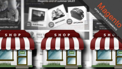 How to set up multiple store fronts in Magento