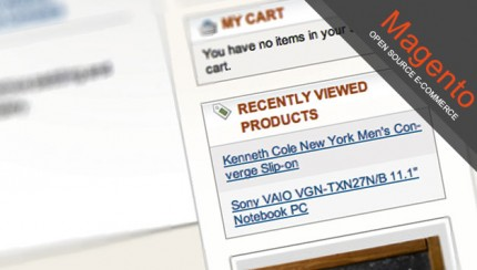 Remove recently viewed products in Magento